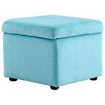 Cyan Design Huffington Ottoman - Blue