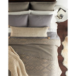 Amity Home Flint Coverlet - Neutral Grey