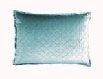 Lili Alessandra Chloe Sea Foam Velvet Luxe Euro Pillow