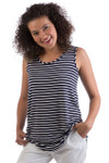 Bamboo Dreams® Justine Top - Boat Stripe