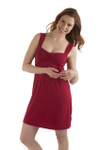 BambooDreams® Cleo Gown - Cranberry