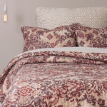 Amity Home Lyon Quilt - Currant