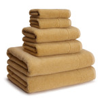 Kassatex Kyoto Cotton-Bamboo Towels - Sunflower (Set of 2)