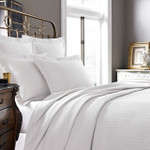 Kassatex Positano Coverlet - White