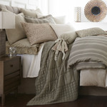 Amity Home Clement Duvet Cover - Grey