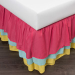 Amity Home Three Layer Bed Skirt