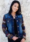 Venario Camryn Denim Jacket - Blue