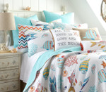 Levtex Barrier Reef Quilt Set