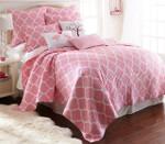 Levtex Gianna Pink Quilt Set