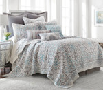 Levtex Architecture Tile Grey Quilt Set