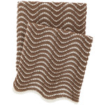 Pine Cone Hill Swell Knit Mocha Throw