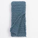 Amity Home Chunky Knit Throw - Peacock