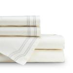 Lili Alessandra Soho Sheet Set - Ivory / Oyster
