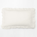 Amity Home Basillo linen Lumbar Pillow - Ivory