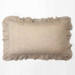 Amity Home Basillo linen Lumbar Pillow - Natural