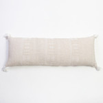 Amity Home Morse X Long Bolster Pillow - Taupe