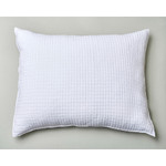 Amity Home Catalina Linen Dutch Euro Pillow - White