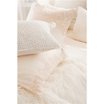 Pom Pom at Home Grace Euro Sham - Pink Champagne