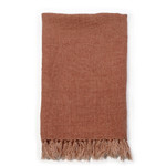 Pom Pom at Home Montauk Blanket - Terra Cotta