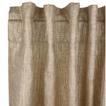 Ann Gish Sheer Curtain Panel - Gold