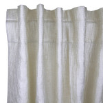 Ann Gish Sheer Curtain Panel - Silver