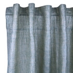 Ann Gish Sheer Curtain Panel - Teal