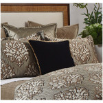 Ann Gish Black Velvet Pillow