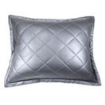 Ann Gish Faux Leather Pillow - Night