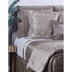 Ann Gish Chanson D'amour Throw - Silver