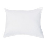 Elisabeth York Diamond Sham - White