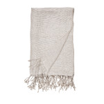 Elisabeth York Lucca Throw - Natural