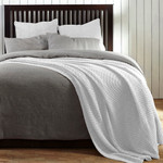 Amity Home Egan Coverlet - White