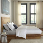 FlatIron Tencel Duvet Cover - Bright White