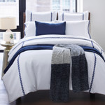 Amity Home Marshall Quilt - New Indigo
