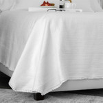 Lili Alessandra Battersea Coverlet - White