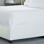 Lili Alessandra Retro Quilted Coverlet - White Cotton