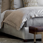 Lili Alessandra Laurie Duvet Cover - Stone Basketweave