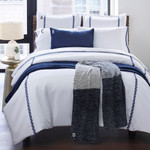 Amity Home Turin Sheet Set - Indigo