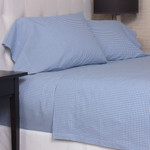 Amity Home Gingham Sheet Set - Blue