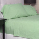 Amity Home Gingham Sheet Set - Green
