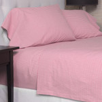 Amity Home Gingham Sheet Set - Pink