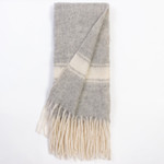 Amity Home Luca Merino Throw - Grey