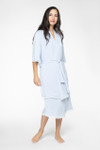 BambooDreams® Savannah Lace Robe - Arctic