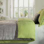 Orchids Lux Home Verde Duvet Cover