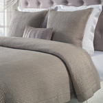 Orchids Lux Home Lucy Coverlet - Sand