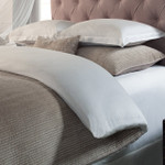 Orchids Lux Home Spencer Coverlet - Champagne