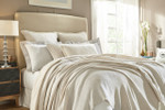 Orchids Lux Home Dana Blanket - Pearl