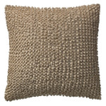 Orchids Lux Home Cascade Ruffle Pleated Square Pillow