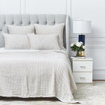 Elisabeth York Lida Natural Coverlet