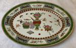 Jingdezhen Large Oval Serving Plate